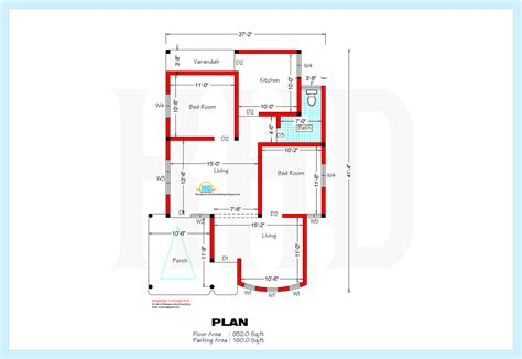 tamil nadu house plans 800 sqft