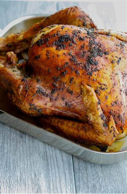 Turkey Thanksgiving Roast Roasted Oven Herb Butter