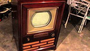 Rca 1954 Victor First Color Tv Ct