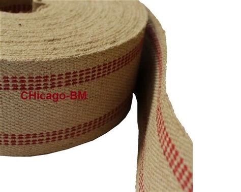Chair Upholstery Supplies by 10 Yards Line Jute Webbing Heavy Weight Wholesale