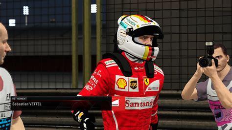 sebastian vettel  bahrain helmet racedepartment