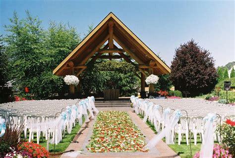 outdoor wedding venue  portland oregon weddings