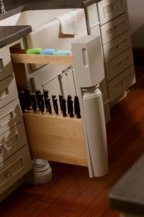 kitchen knife storage ideas 10 best images about drawer knife block on