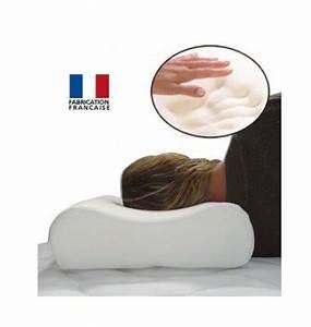 Oreiller Cervical Memoire De Forme : oreiller cervical memoire de forme oreiller confort ~ Melissatoandfro.com Idées de Décoration