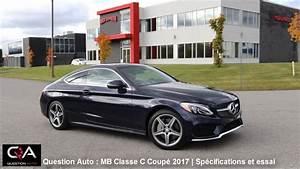 Mercedes Classe C Noir : 2017 mercedes benz coup classe c essai routier et sp cifications essai ultra complet partie ~ Dallasstarsshop.com Idées de Décoration