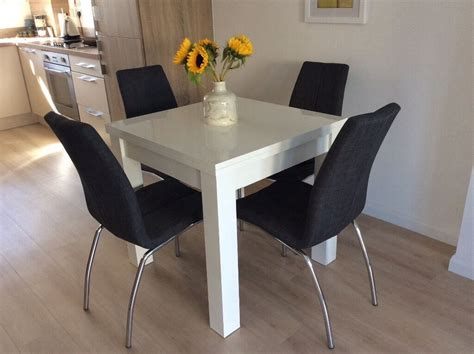 White Dining Table And Chairs For Sale by Next White Valencia Dining Table Chairs Not For Sale In