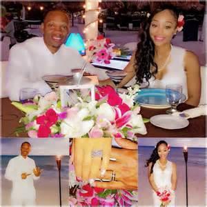 Ronnie Devoe and Shamari Fears Wedding