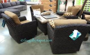 costco agio 5 pc woven fire chat 1 799 99 frugal hotspot