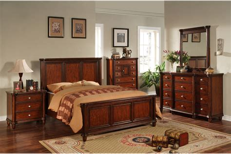 Elements International Hamilton Bedroom Set With Optional