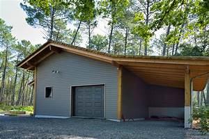 Amenagement Garage Atelier : garages et abris voiture construction de maisons en bois ~ Melissatoandfro.com Idées de Décoration