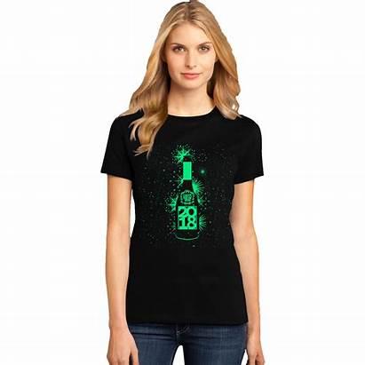 Shirt Birthday Glow Dark Womens Night Foil