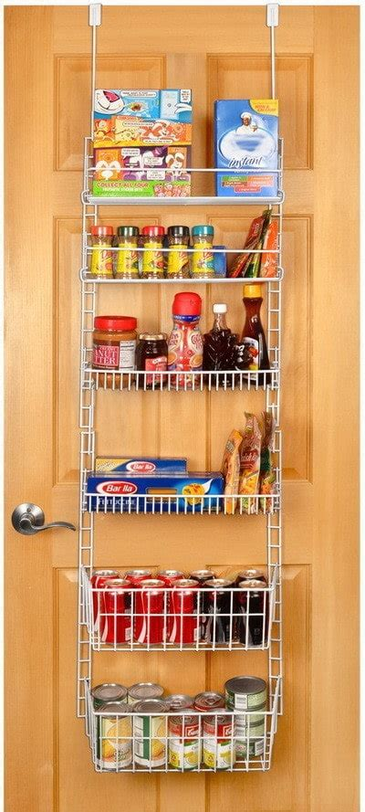 The Door Organizer For Pantry 31 Kitchen Pantry Organization Ideas Storage Solutions