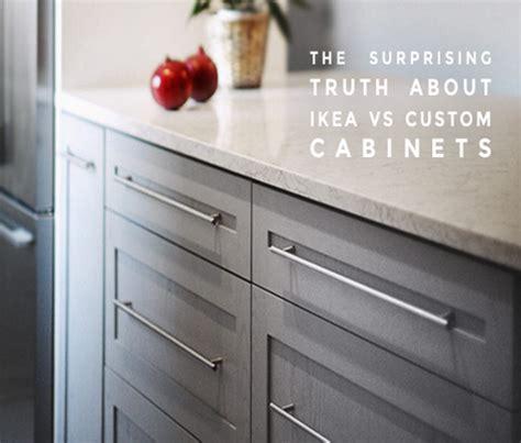 kitchen drawers vs cabinets using ikea vs custom kitchen cabinets 4735