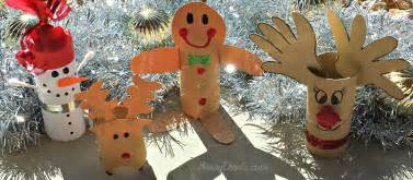 diy christmas toilet paper roll craft ideas for kids crafty morning