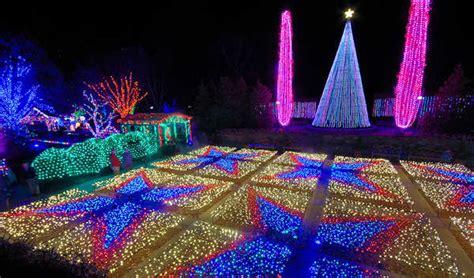 lights in asheville nc winter lights at nc arboretum