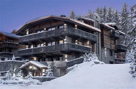 luxury ski chalet in courchevel 1850 chalet edelweiss reservations the luxury travel