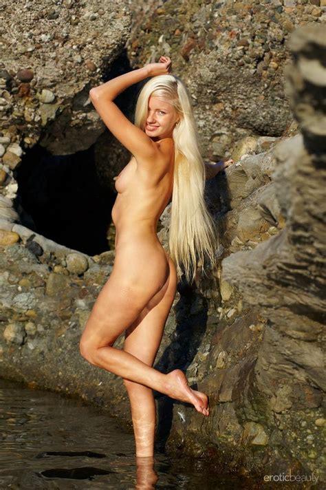 Silvia C In Platinum Blonde By Erotic Beauty Erotic