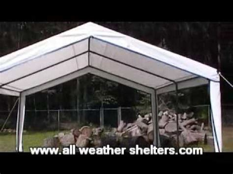 outdoor garden party canopy installation easy  assembly youtube