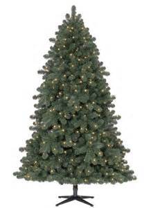pre lit 8 foot hancock spruce artificial tree