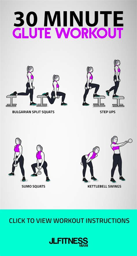glute workout kettlebell minute workouts step glutes band squat exercises split squats swings bulgarian cardio leg ups