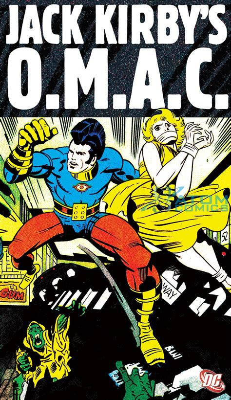 Trade Reading Order » Jack Kirby's OMAC: One Man Army ...