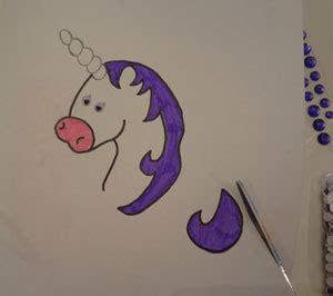 letter  unicorn craft  kids network