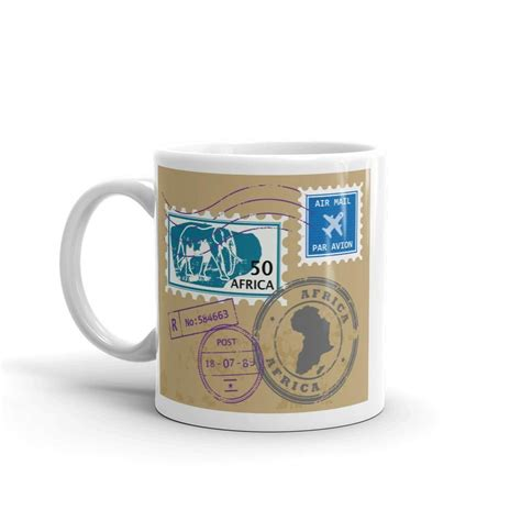 You are looking at a selection of coffee composed of the best robustas and arabicas grown and harvested in the plains and hills of cameroon. Africa High Quality 10oz Coffee Tea Mug #10588   Mugs, Tea mugs, Coffee