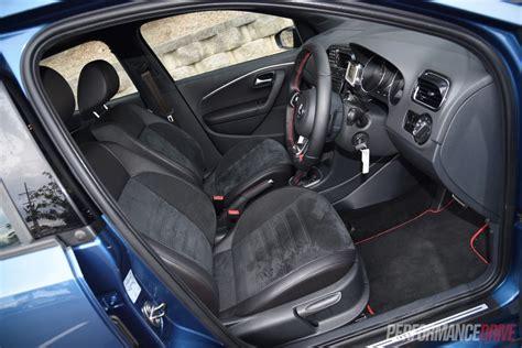 volkswagen polo 2015 interior 2015 volkswagen polo gti review track test video