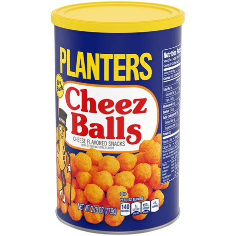 planters cheese balls planters cheez balls 2 75 ounce cannister planters