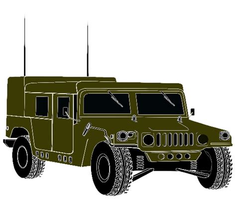 humvee clipart hmmwv the crittenden automotive library
