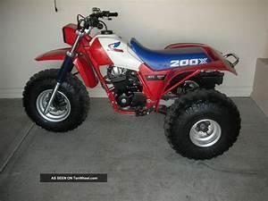 Honda Atc 200x Specs X  1985 Honda Atc 200x  1985 Honda