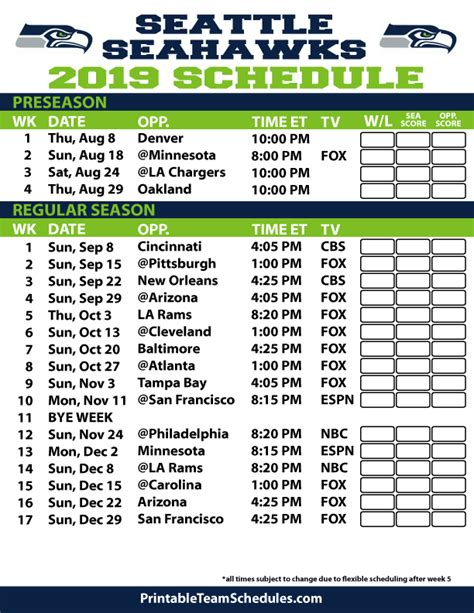 nfl football schedule   season schedule