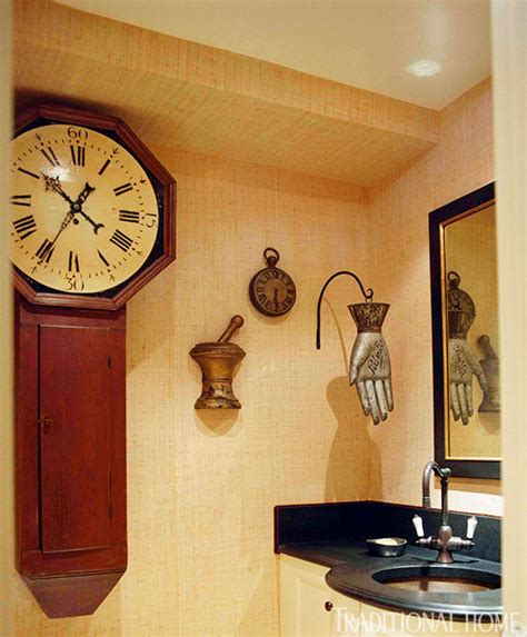 how to decorating with clocks traditional home