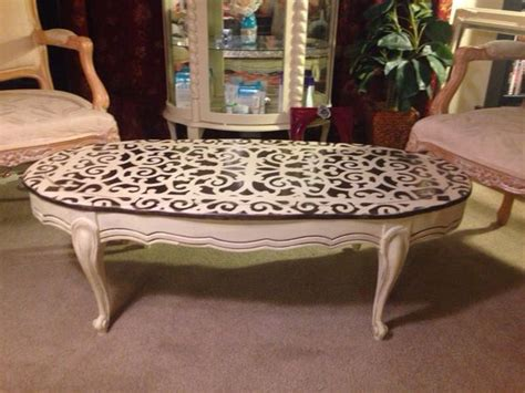 In others, wood is prominent as a secondary or. French country shabby chic coffee table,solid oak. Painted in antique white chalk paint and hand ...