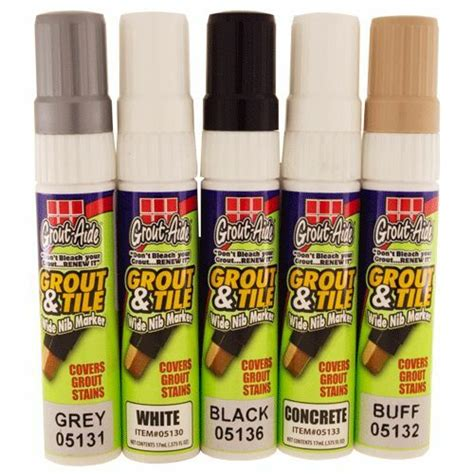 large grout colorant markers update grout colored