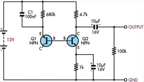 Simple Light Diagram Generator by How To Build Simple White Noise Generator Circuit Diagram