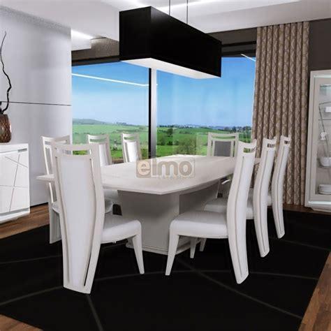 table salle à manger extensible laquée pied central