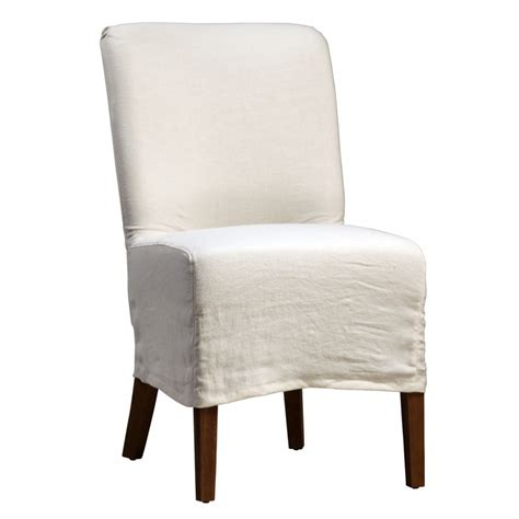 Linen Dining Room Chair Slipcovers Dining Chairs Design