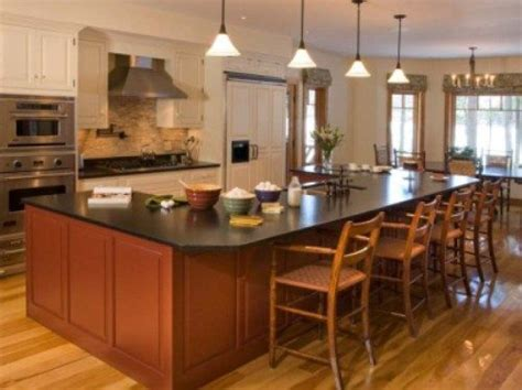 kitchen island table designs 17 best images about kitchen islands on