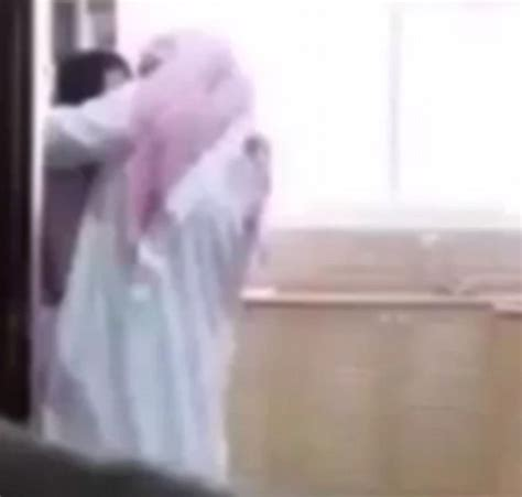 Saudi Husband Caught Forcing Himself On His Maid On Camera
