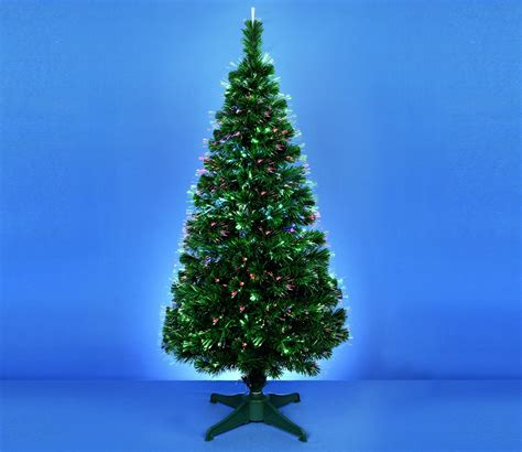 premier led crystal tip fibre optic christmas tree