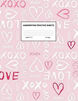 amazonin buy handwriting practice sheets cute blank