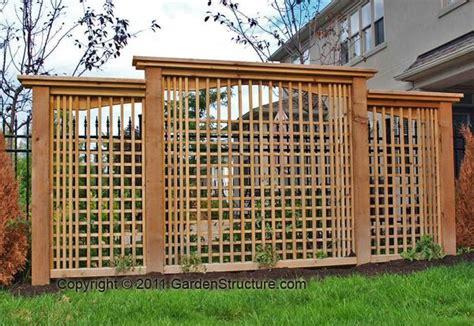 Backyard Privacy Screens Trellis - a modern privacy screen design backyard pergola and