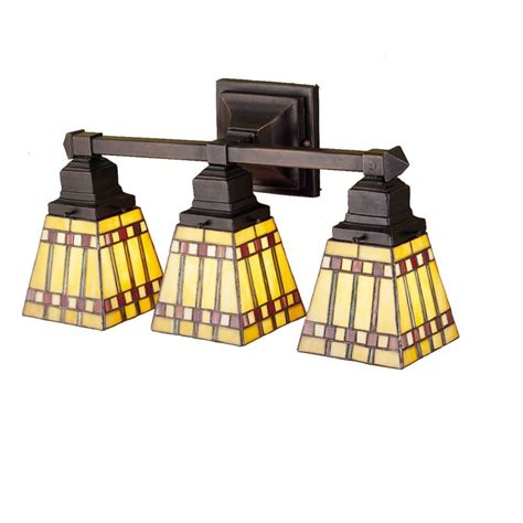 Stained Glass Bathroom Light Fixtures by Meyda 31246 Glass Stained Glass