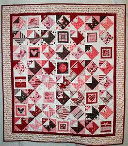 free pattern quilt and love notes on pinterest With love letters quilt pattern