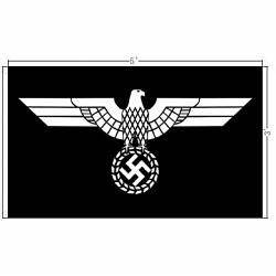Iron Eagle Nazi flag | Tightrope Records