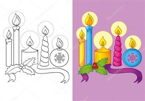 immagini di candele di natale immagini di candele di natale da colorare disegni di natale