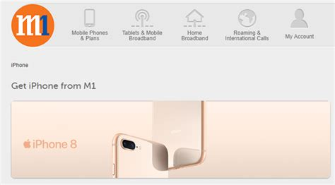 M1 Iphone 8 M1 Announces Price Plans For Iphone 8 And Iphone 8 Plus