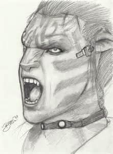 Jake Sully Avatar Movie Drawings
