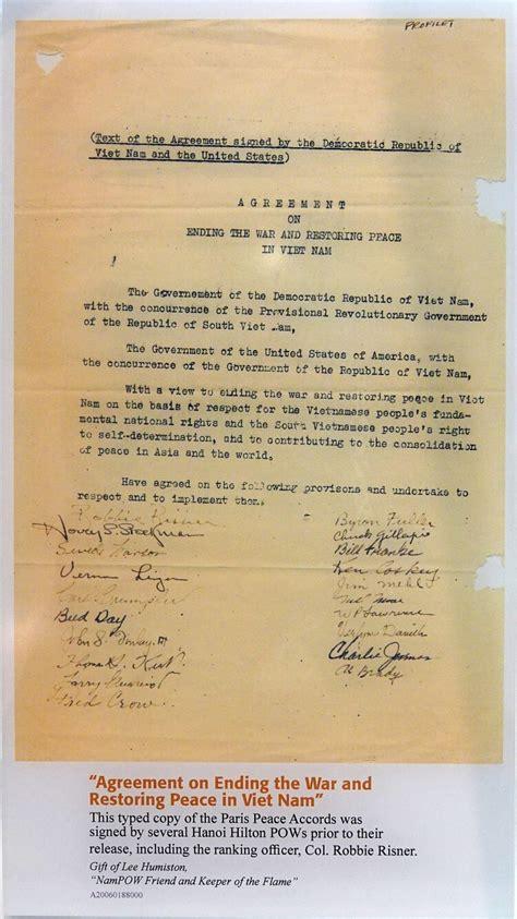 treaty  executive agreement paris peace accords wikipedia